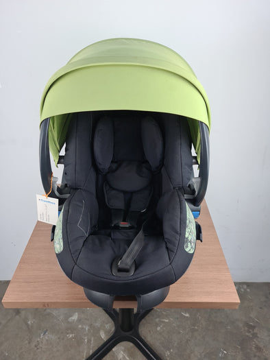 Pre-loved Stokke iZi Sleep™ X3 by BeSafe (Green)