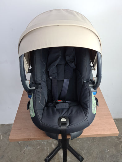 Pre-loved Stokke iZi Sleep™ X3 by BeSafe (Beige)