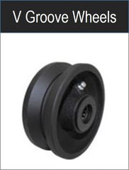 Metal V-Grove wheel - groovedwheels.com