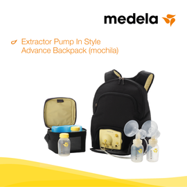 medela, Extractor Pump In Style Advance Backpack, lactanciasi, liga de la leche