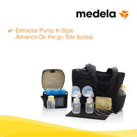 medela, Extractor Pump In Style Advance on the go, lactanciasi, liga de la leche