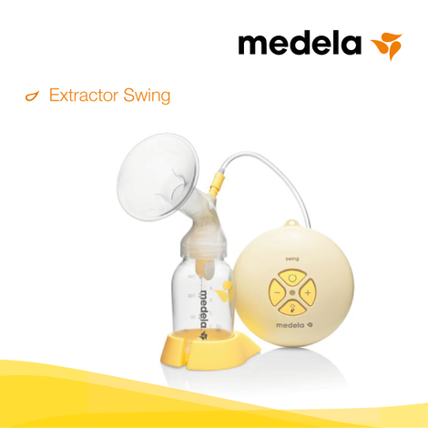 Extractor medela electrico swing
