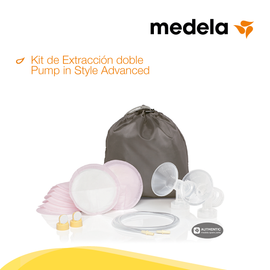 medela Kit de Extracción Doble Pump in Style Advanced, lactanciaSi, lactancia SI