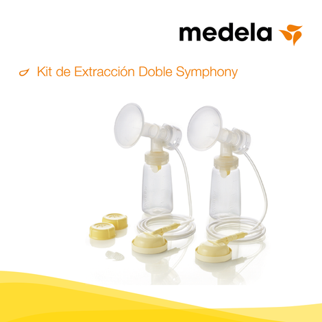 medela, Kit de Extracción Doble Symphony