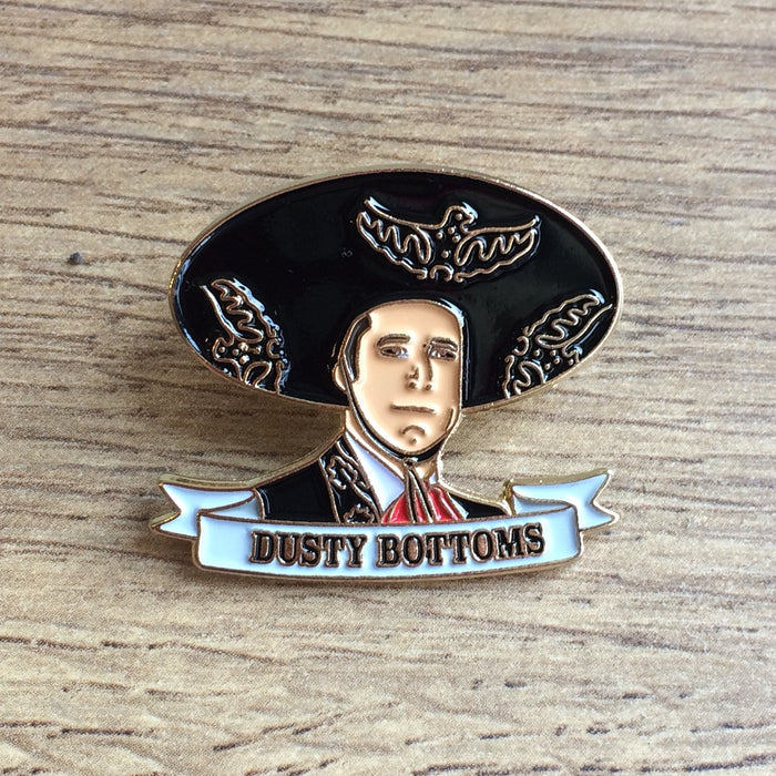 ¡Three Amigos! Enamel Pin | Dusty Bottoms