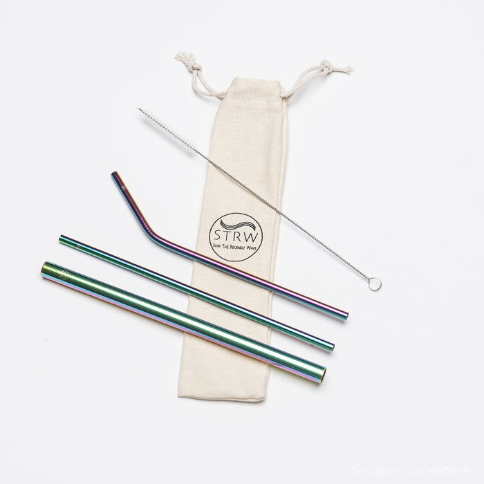 Steel Straw Variety 3-Pack