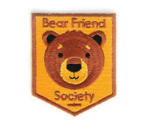 Bear Friend Society Patch