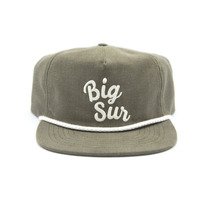 Big Sur Throwback Cord Hat