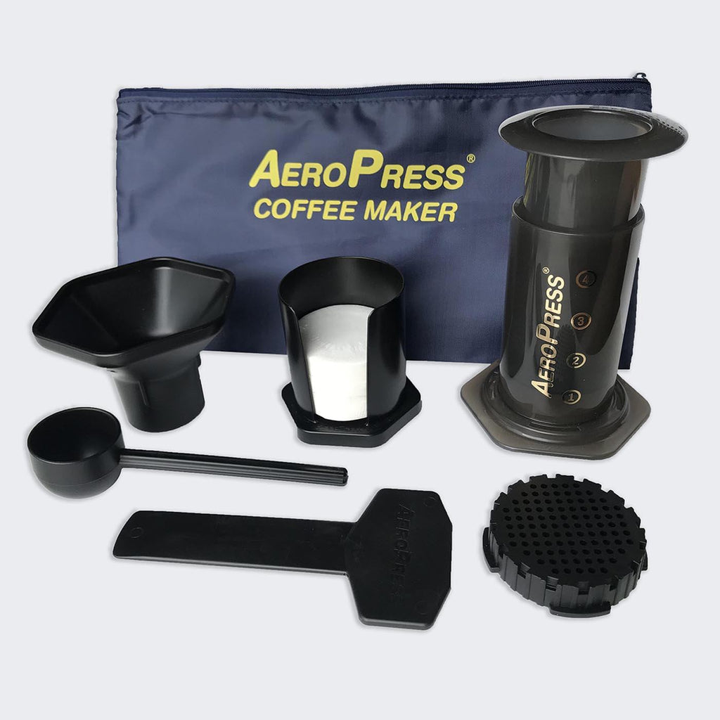 AeroPress Coffee Maker w/ Tote Bag