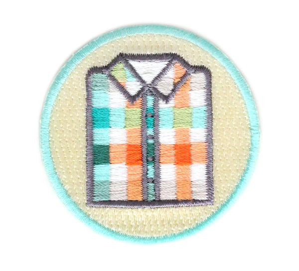 Plaid Shirt Patch
