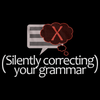 (I'm Silently Correcting Your Grammar) | Sarcastic Black art preview