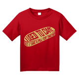 Youth Red I Used To Care, But I Take A Pill For That Now -Fun Sarcasm Meds T-shirt