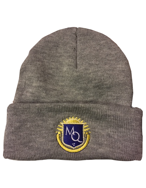 Michigan Quidditch Crest Logo Winter Beanie