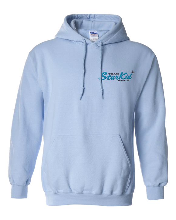 Team StarKid - Retro StarKid Pullover Light Blue Hoodie