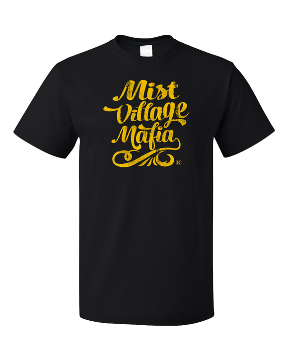 LitRPG - Mist Village Mafia Wordmark T-shirt