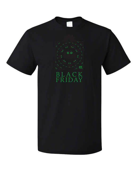 Black Friday - Dark Wiggly Tee