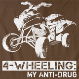 4 WHEELING: MY ANTI-DRUG Brown art preview