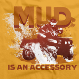 Mud is an Accessory | Four Wheeling Pride Gold art preview