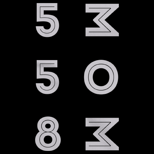 558 MOM Logo Black Art Preview