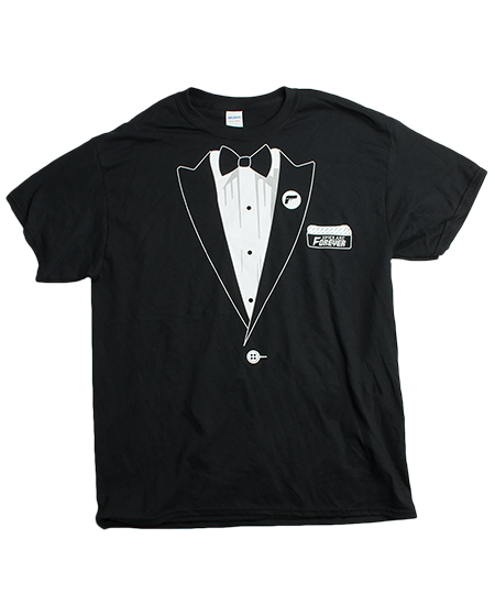 Tin Can Brothers - Spies Are Forever Tuxedo T-Shirt