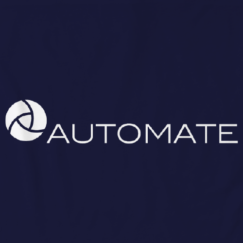 Automate Fleece (Ladies and Unisex) Midnight Navy Art Preview