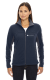 North End Ladies' Microfleece Jacket Midnight Navy Automate Fleece (Ladies and Unisex) Microfleece
