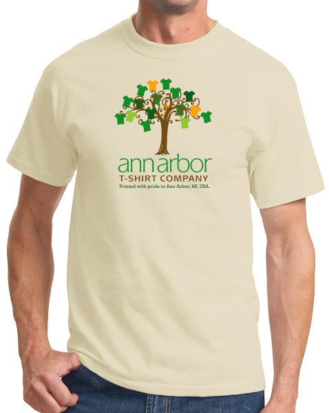 Standard Natural Official Ann Arbor Tees Logo T-shirt