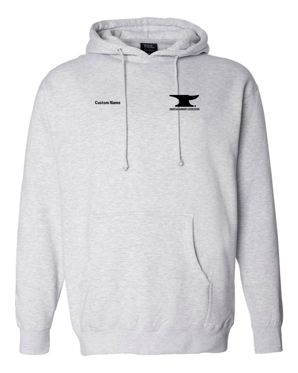 Pullover Hoodie Grey Customizable AFA Logo pullover-hoodie
