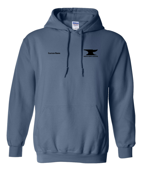 Pullover Hoodie Indigo Blue Customizable AFA Logo pullover-hoodie