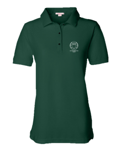 Ladies Pique Polo Forest Green Men's or Ladies' Short Sleeve Journeyman Polo