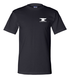 Union Made Short Sleeve T Shirt Navy AFA Logo T-shirt