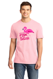 Unisex Pink It's All Pink On The Inside! - Dirty Joke Raunchy Animal Funny