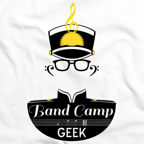 BAND CAMP GEEK White art preview