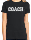 Ladies Black COACH RED T-SHIRT T-shirt