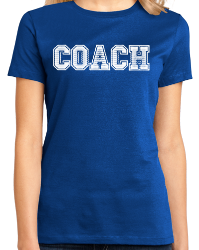 Ladies Royal COACH RED T-SHIRT T-shirt