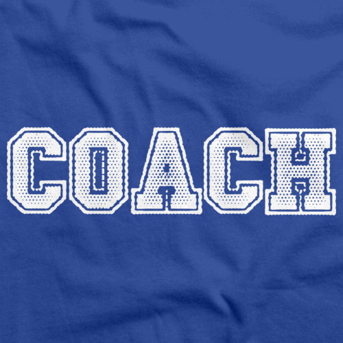 COACH RED T-SHIRT Royal Blue art preview