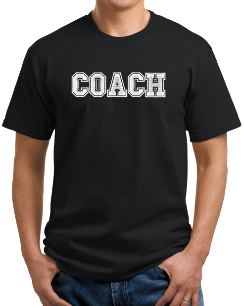 Unisex Black COACH RED T-SHIRT T-shirt