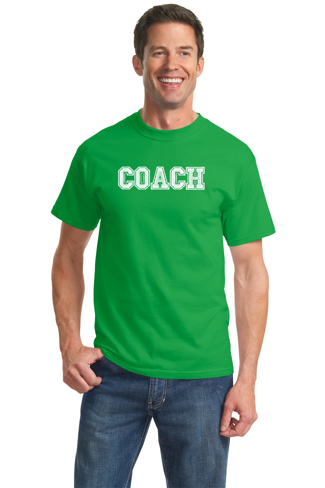 Unisex Green COACH RED T-SHIRT T-shirt