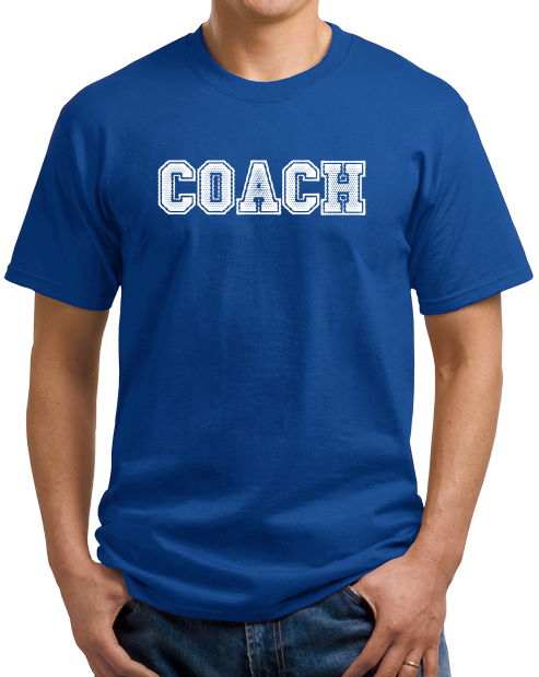 Unisex Royal COACH RED T-SHIRT T-shirt