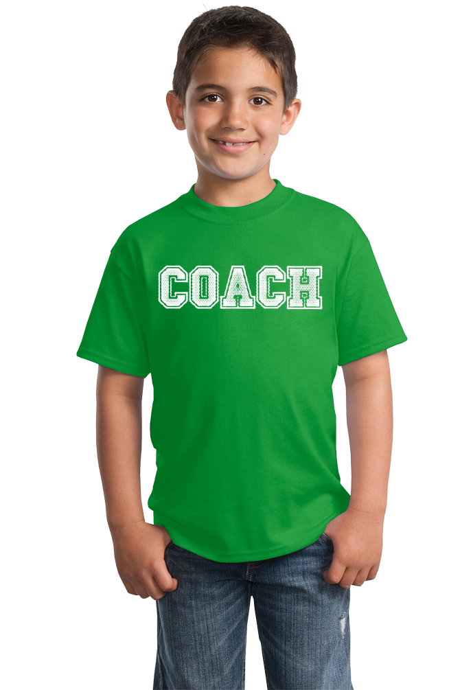 Youth Green COACH RED T-SHIRT T-shirt