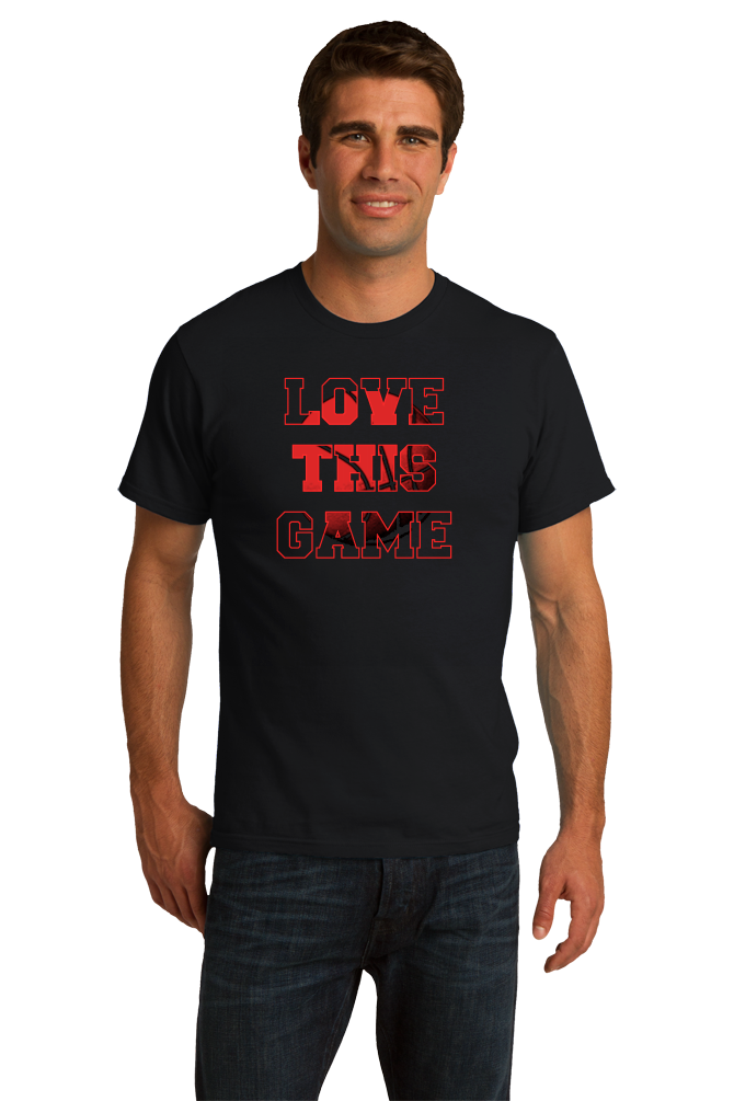 Standard Black Love This Game - Basketball Fan Love Player Pride Gift T-shirt