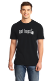 Standard Black GOT HOPS? T-shirt