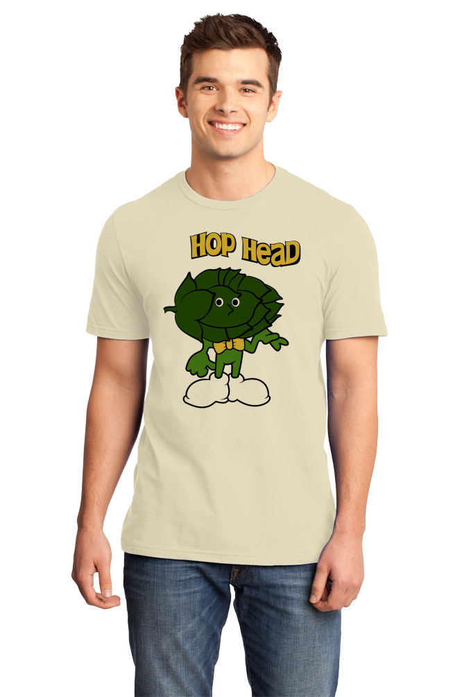 Standard Natural Hop Head - Funny IPA Craft Brewing Beer Lover Homebrew T-shirt