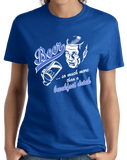 Ladies Royal Beer : More Than Breakfast - Funny Retro Beer Lover 1950s Humor T-shirt