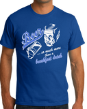 Standard Royal Beer : More Than Breakfast - Funny Retro Beer Lover 1950s Humor T-shirt