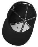 Snapback Cap Black Broadway For All T-shirt