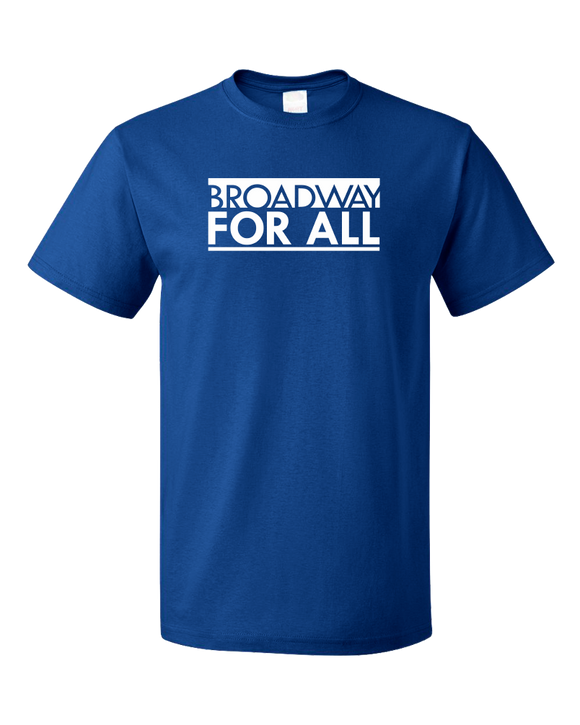Standard Royal Broadway for All (Dark Colors) T-shirt