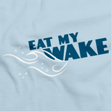 EAT MY WAKE Light blue art preview