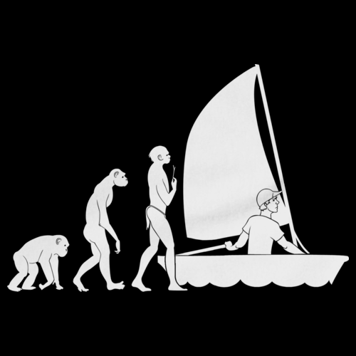 SAILING EVOLUTION Black art preview