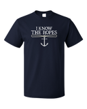 Standard Navy I Know The Ropes - Sailing Pun Funny Sailboat Joke Pride T-shirt